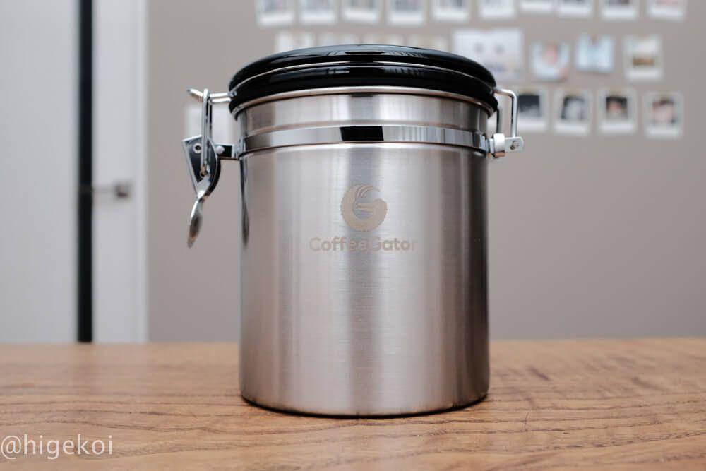 コーヒー豆を完全密閉するキャニスター Coffee Gator コーヒー コーヒー豆 キャニスター