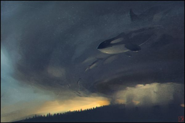 Artist Creates Fantasy Art Of Mystical Creatures And Nature - DesignTAXI.com