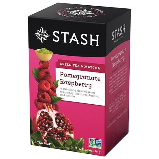 Photo of Best fruity tea flavor | Pomegranate Raspberry Green Tea