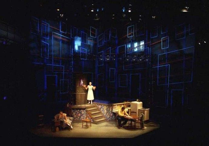 Crumbs From The Table Of Joy Goodman Theatre Scenic Design