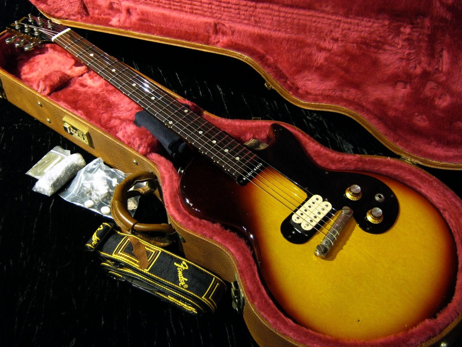 "Gibson 1960 Melody Maker Gary Moore ""Thin Lizzy Years"" Modify"