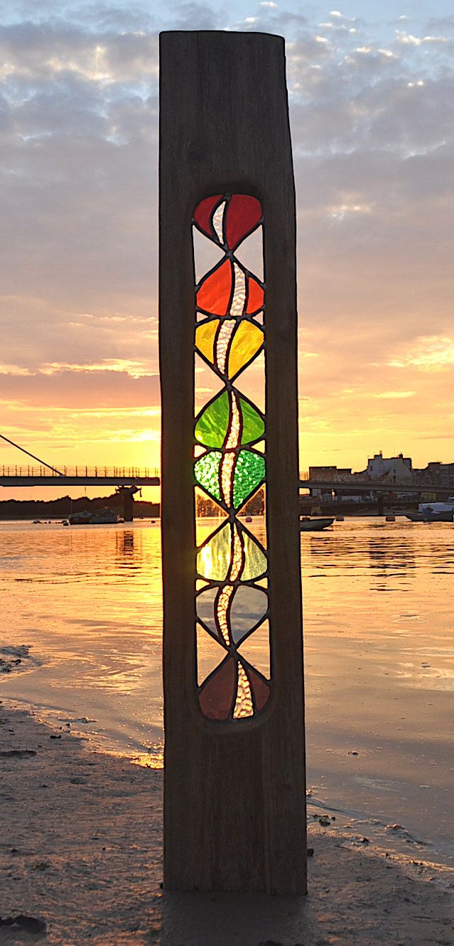 current workstained glass artist louise v durham