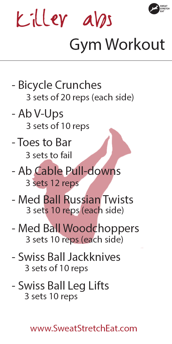 Ready For A Killer Abs Workout Try This One