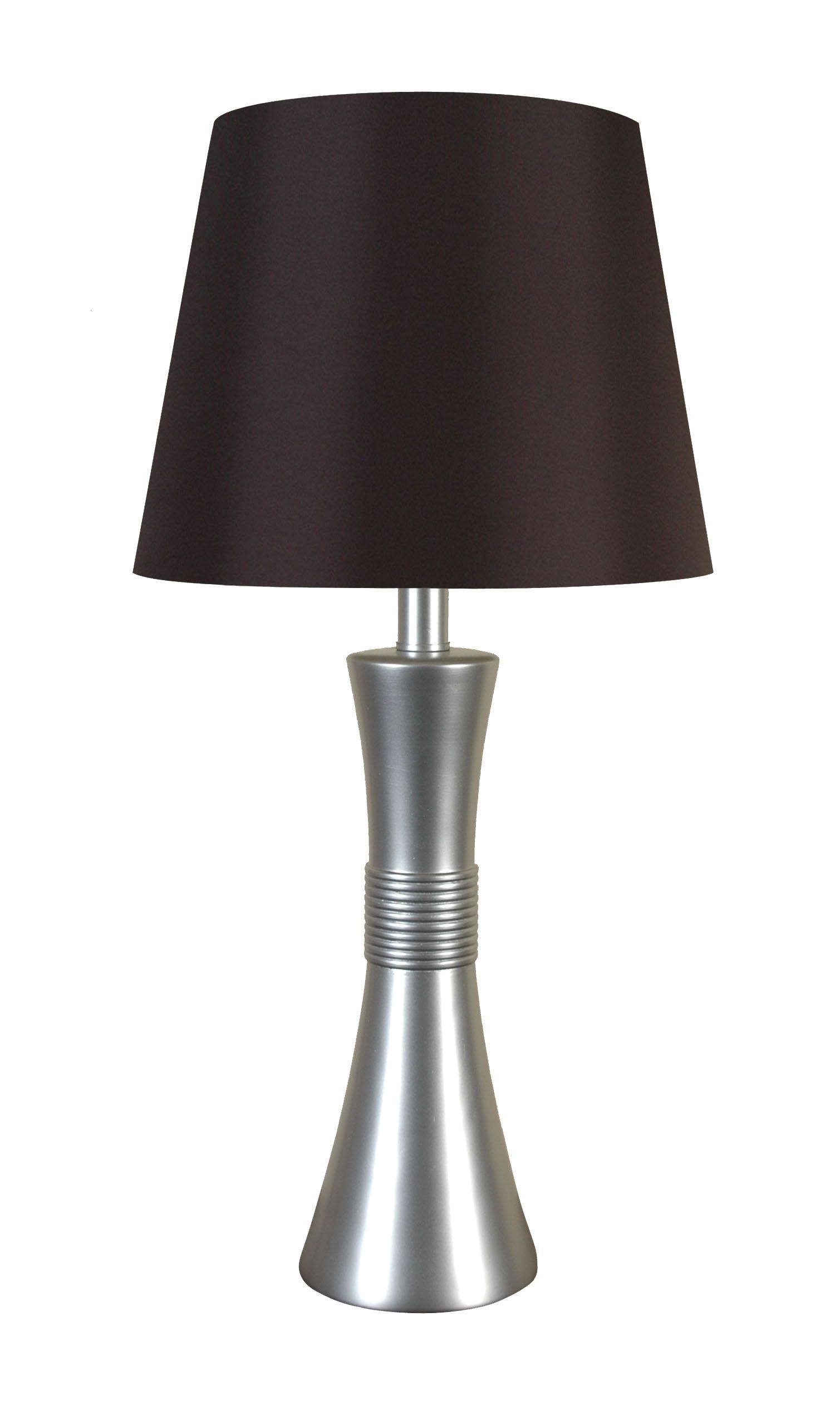 LPS 003A: Metal Table Lamp With Silver Finish By Lamps Per Se
