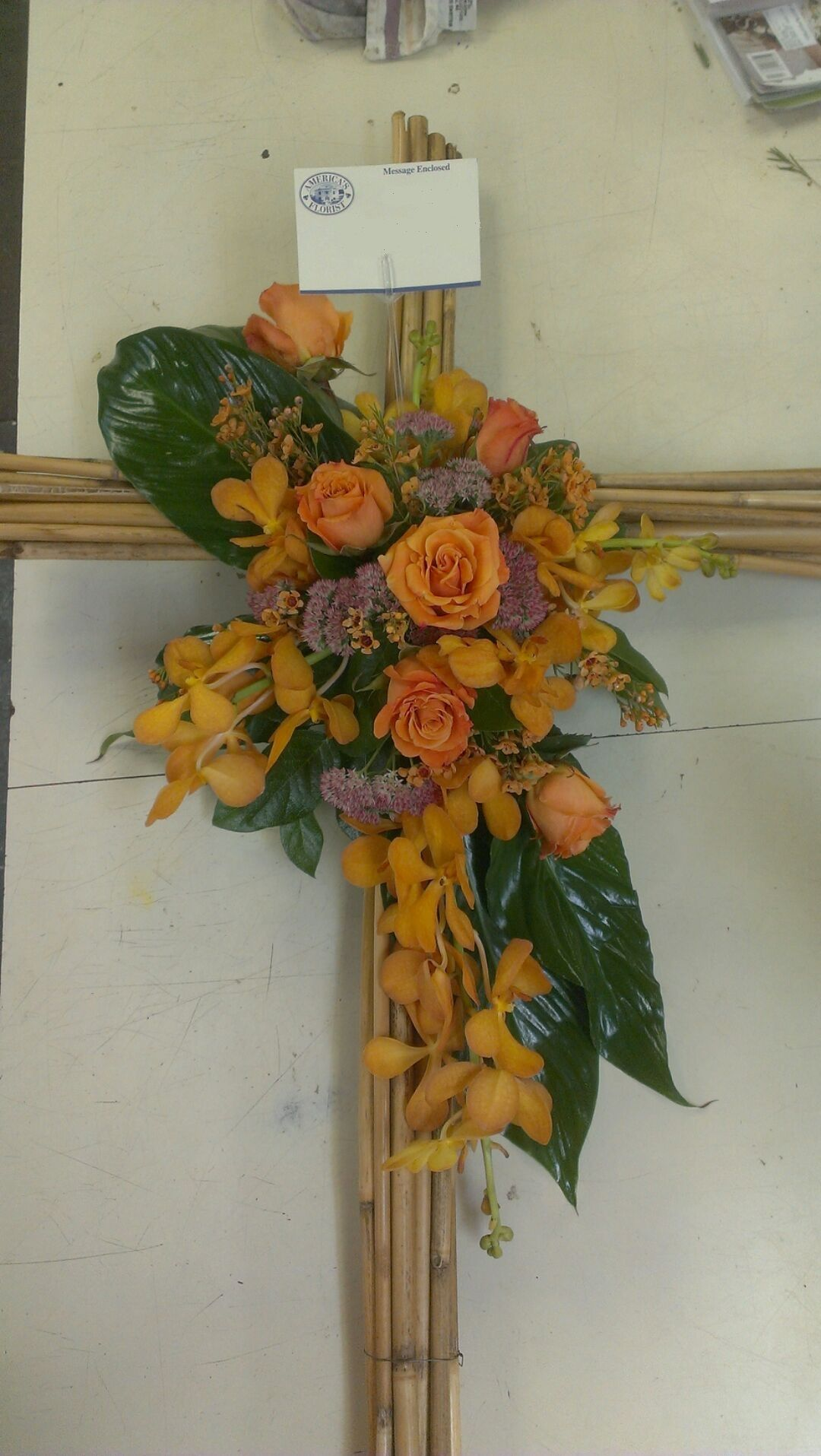 River Cane Cross by America's Florist Order flowers