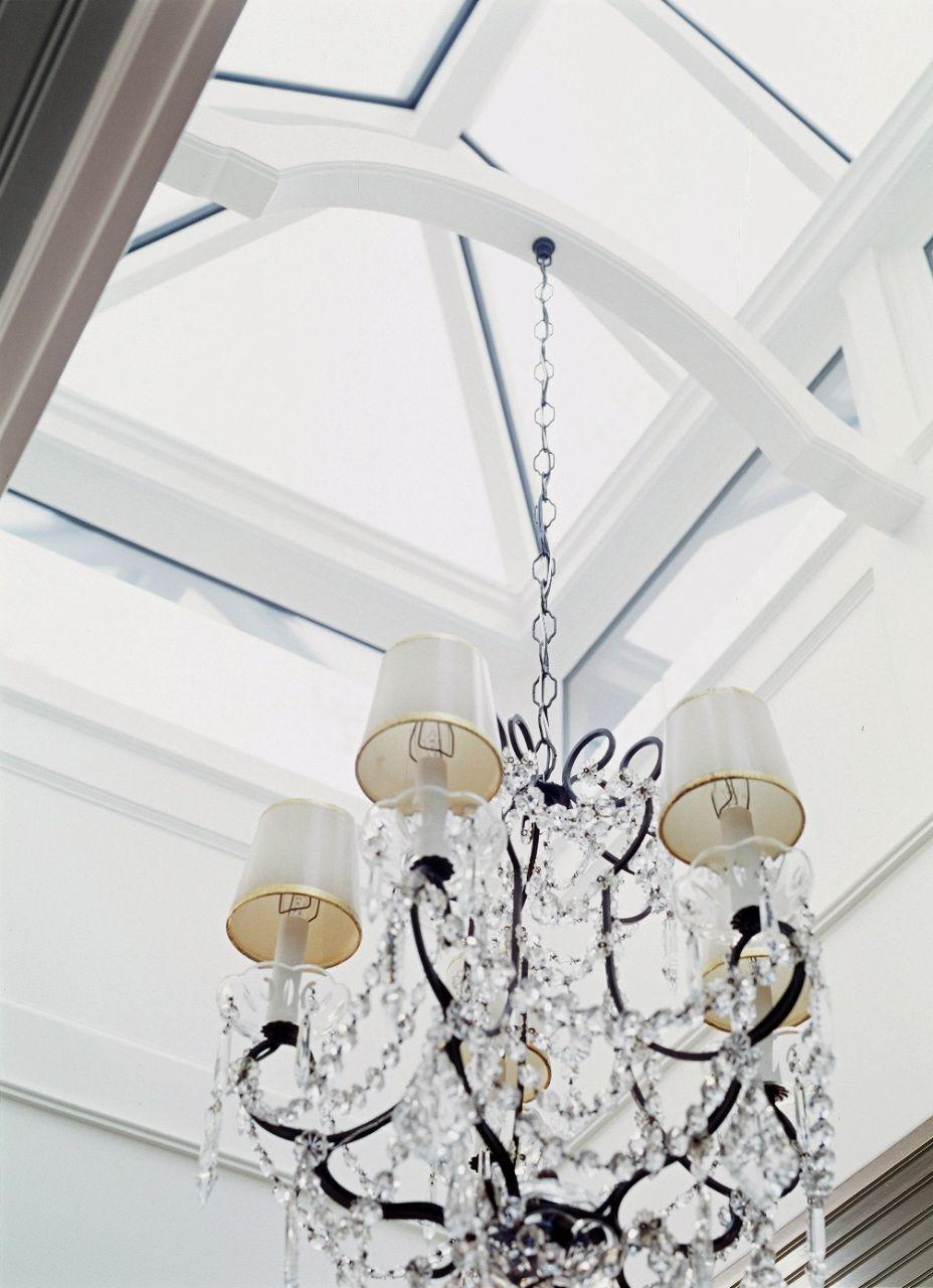 Glass Skylight In Cobi Ladner S Kitchen Diy Canopy