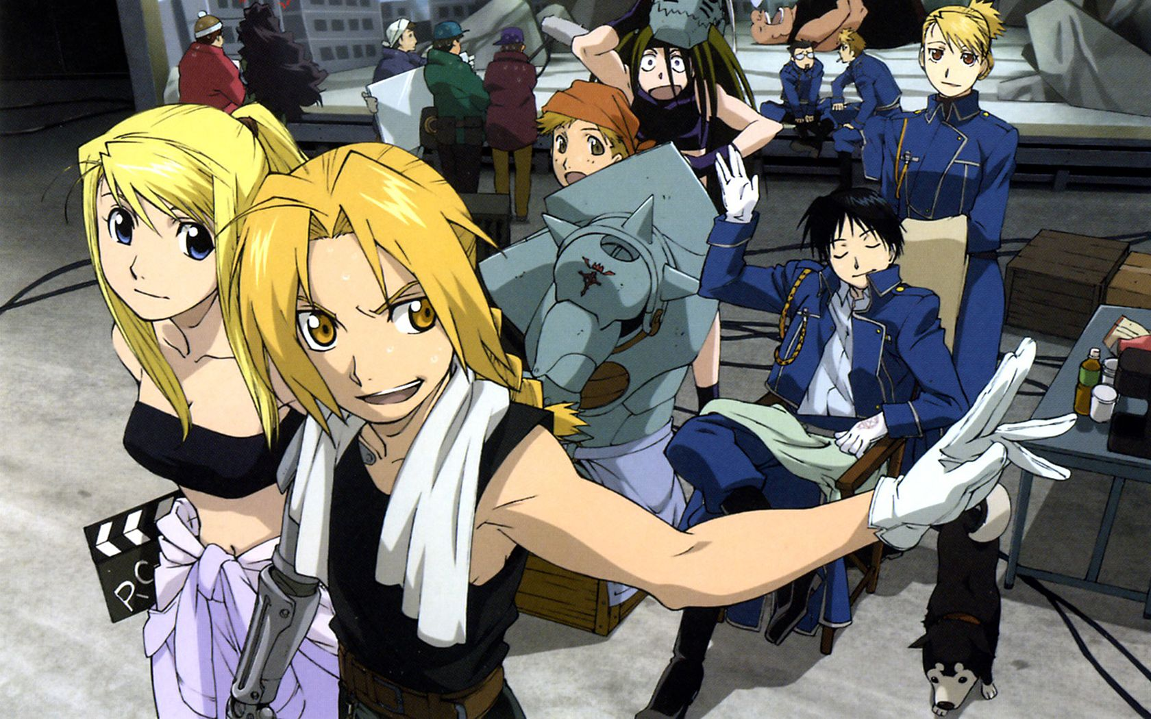 Скачать игру fullmetal alchemist brotherhood на компьютер