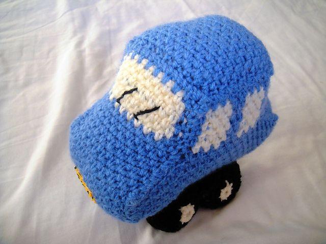 Ravelry: Little Blue Crochet Car pattern | amigurumi | Pinterest