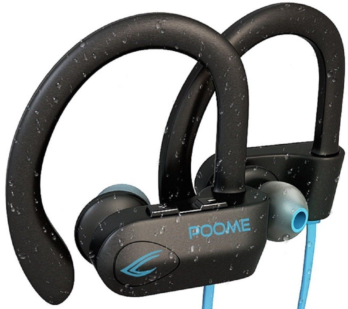 POOME Wireless Bluetooth Headphones HD Stereo Noise