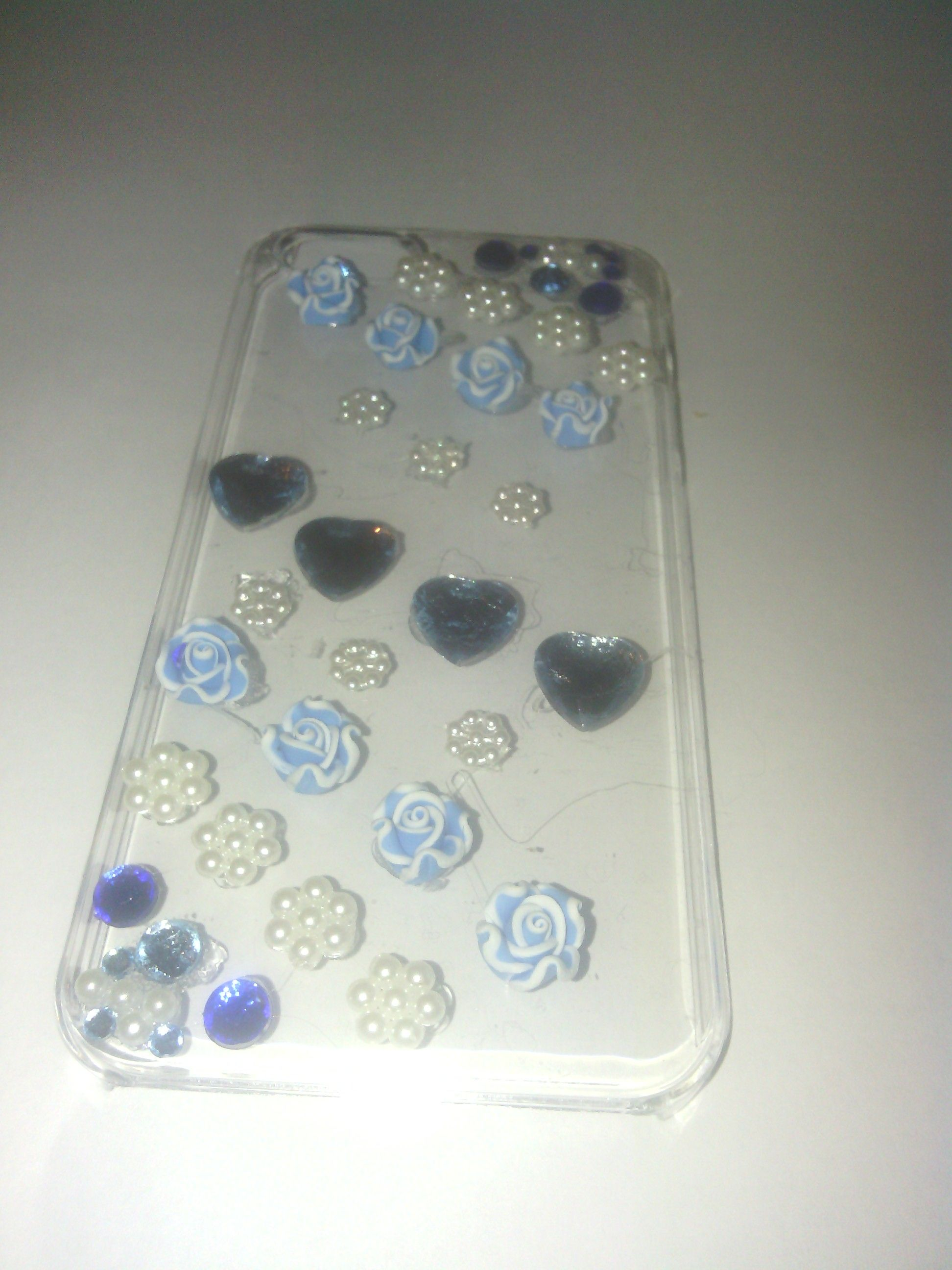Blue/White Phone Case