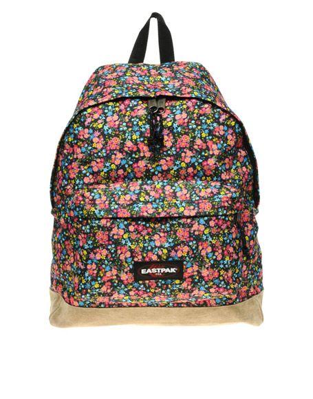 Floral Eastpak Backpack Sac Eastpak Sacs D Ecole Sac