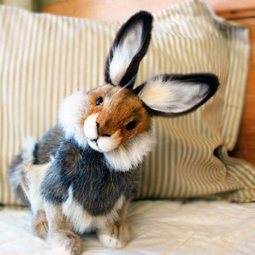 Woodland Bunny Rabbit Stuffed Animal Hansa Toys