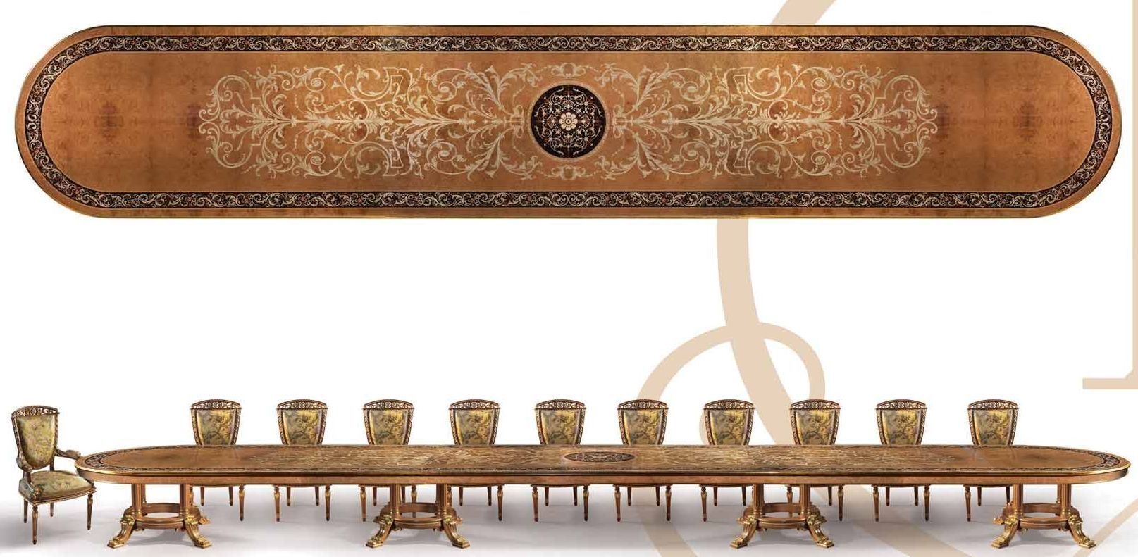 Photo Of Empire Style Dining Table Or Conference