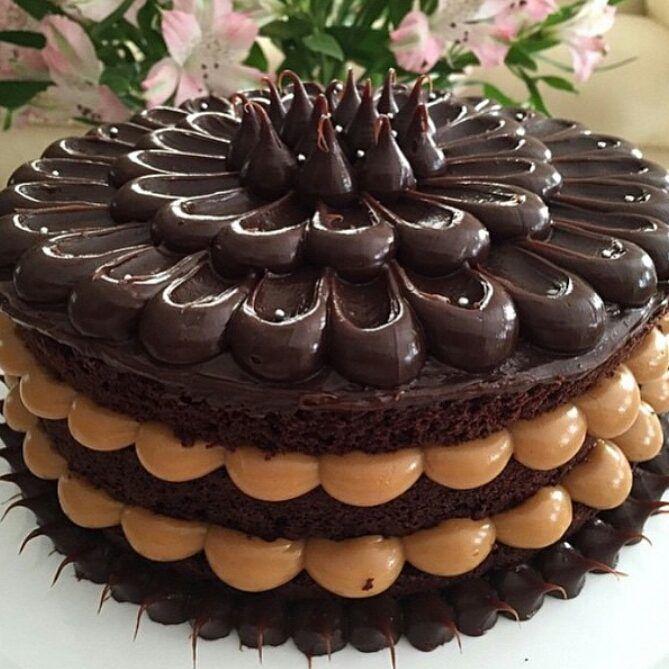 Naked Cake com Figos - Richs do Brasil