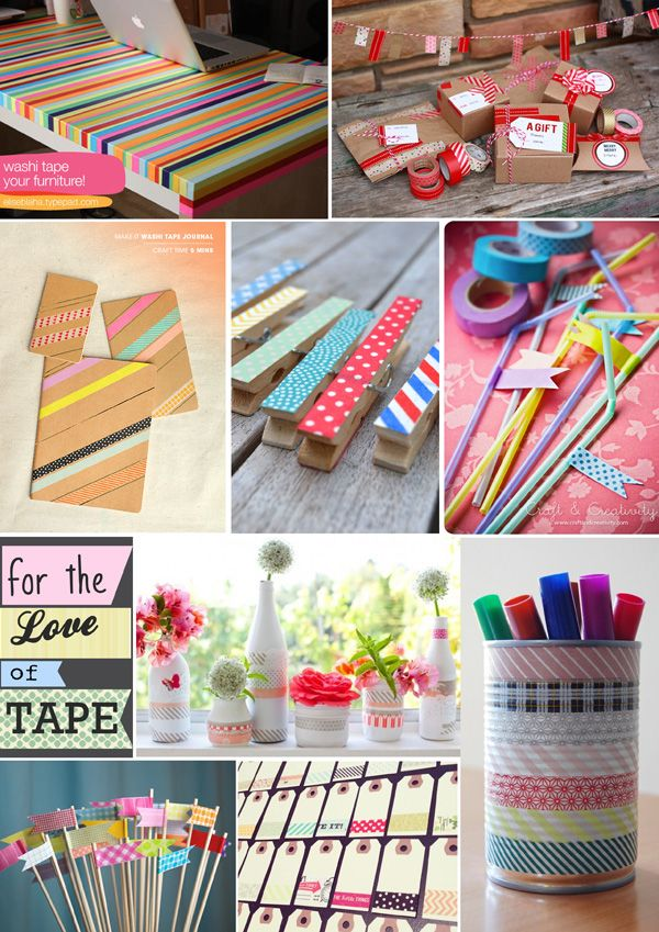 10++ Washi tape crafts to sell information