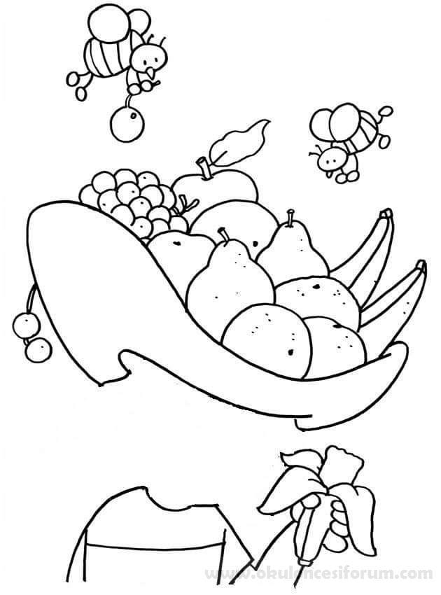 Received 1254476464600278 Jpeg 630 850 Piksel Boyama Kitaplari Meyve Faaliyetler