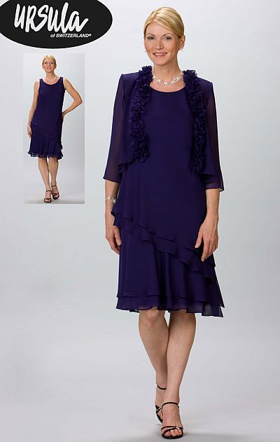 d9773c80ad1 Check out the deal on Ursula Short Mother of the Bride Dress 11192 with  Jacket at French Novelty
