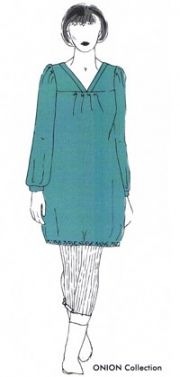 6d9d1f1d0e 2020 ONION Schnitt Tunika/Kleid XS-XL | nähen | Kleid xs, Tunika ...