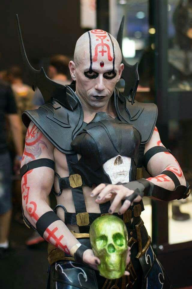 Quan Chi | Cosplay | Mortal kombat cosplay, Mortal kombat x, Mortal