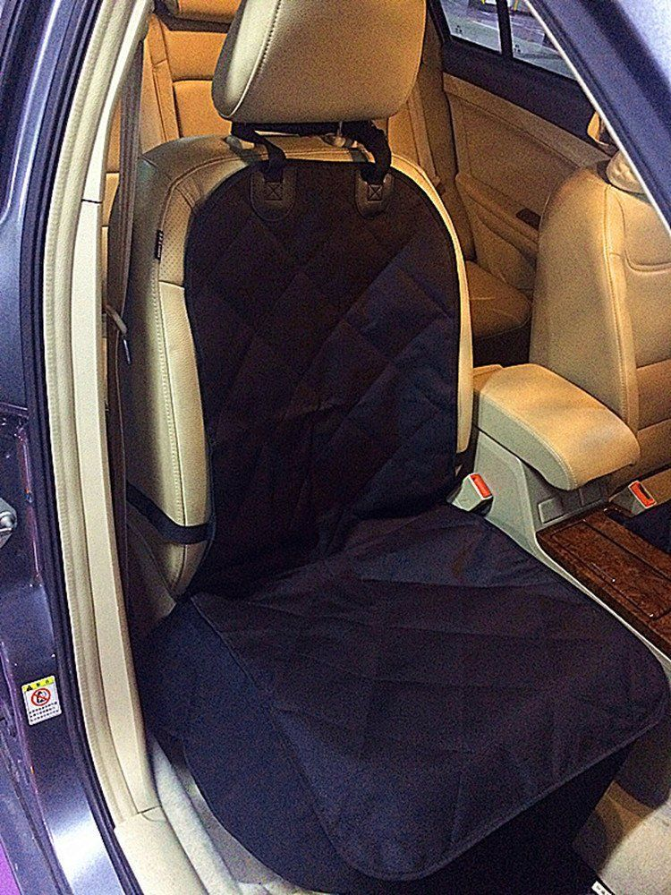 Pet Front Car Seat Cover Black WaterProof And Nonslip Backing Dog Cat Puppy Protector Mat Blanket Continue To The Product At Image Link