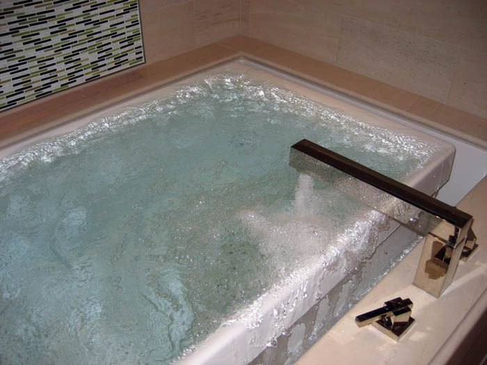 Attractive Infinity Edge Bathtub #3: Kohler Infinity Edge Tub | Filling The Bath Tub... But What Kind Of