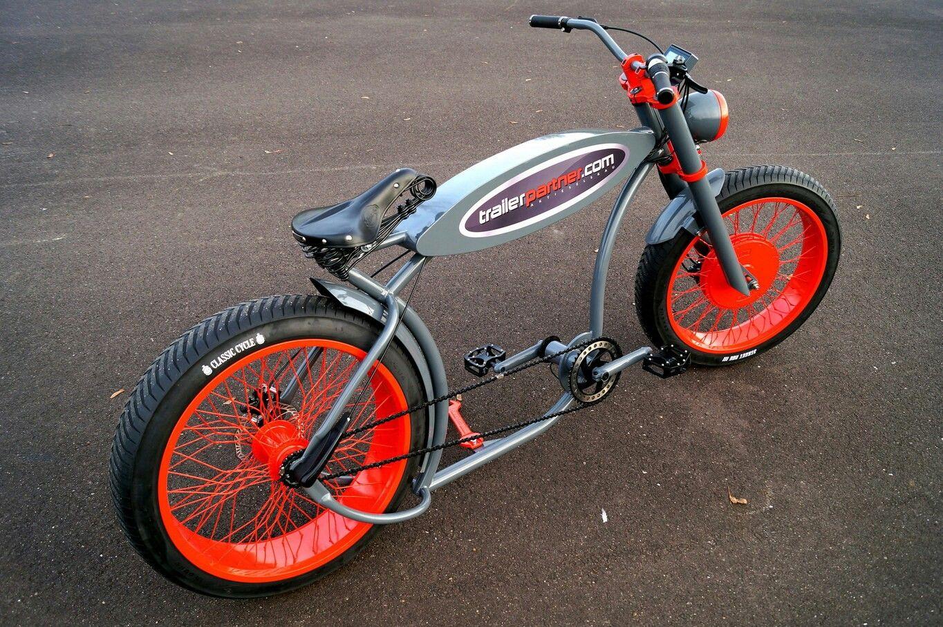 Pin Di Cesare Visentin Su Chopper Bike Bicicletta