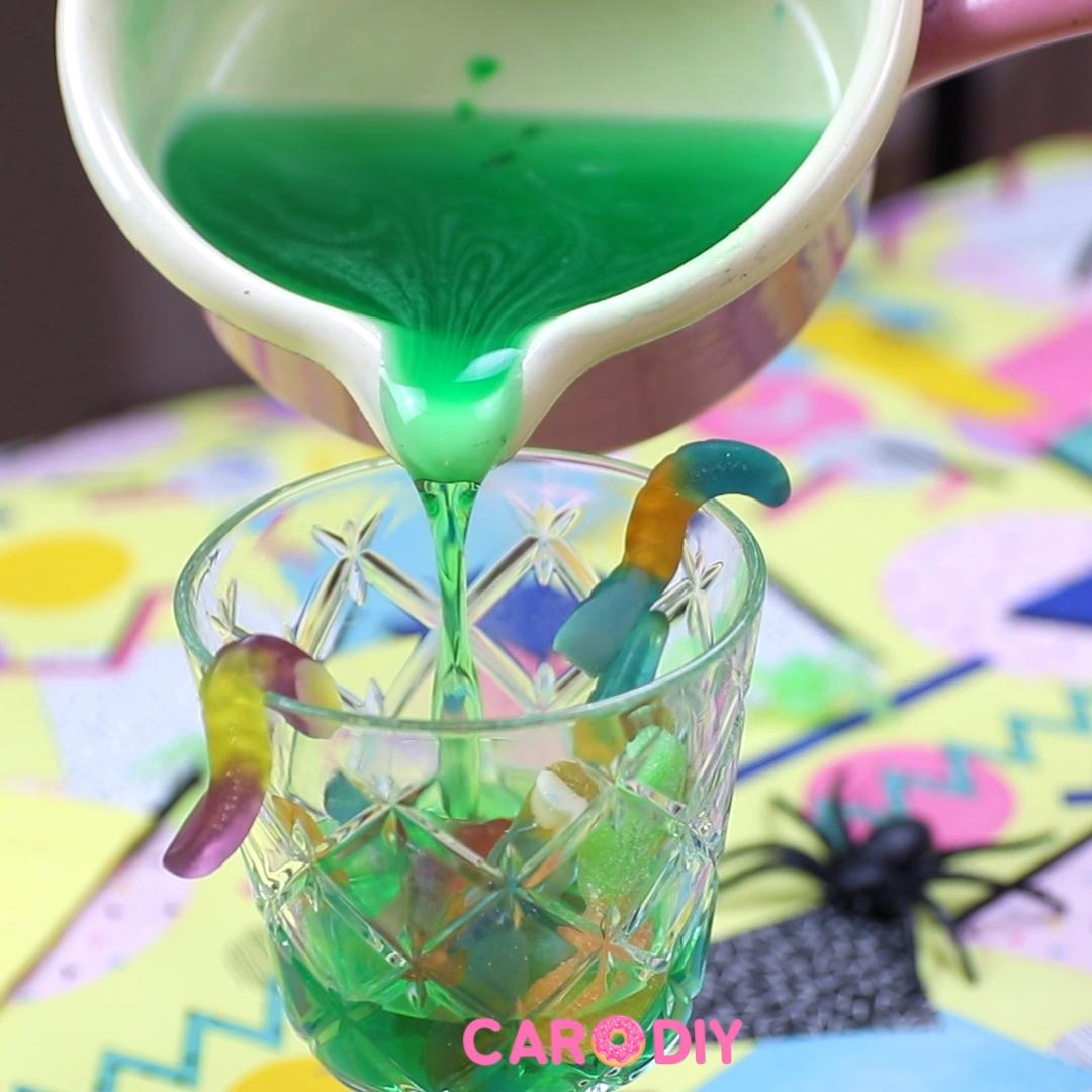 Creepy Halloween Glibber Snack - #creepy #glibber #halloween #snack - #HealthyHolidayRecipes