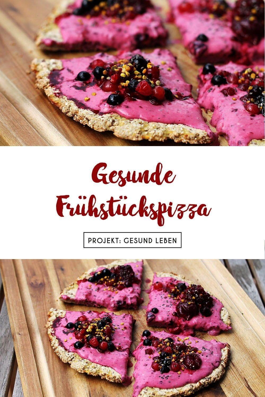 #frühstückspizza #haferflockenteig #entspannung #gesunde #fitness #projekt #beeren #vegane #rezept #...