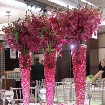 Vases for Centerpieces   Tall Vases + Wedding Centerpiece   Wedding ...