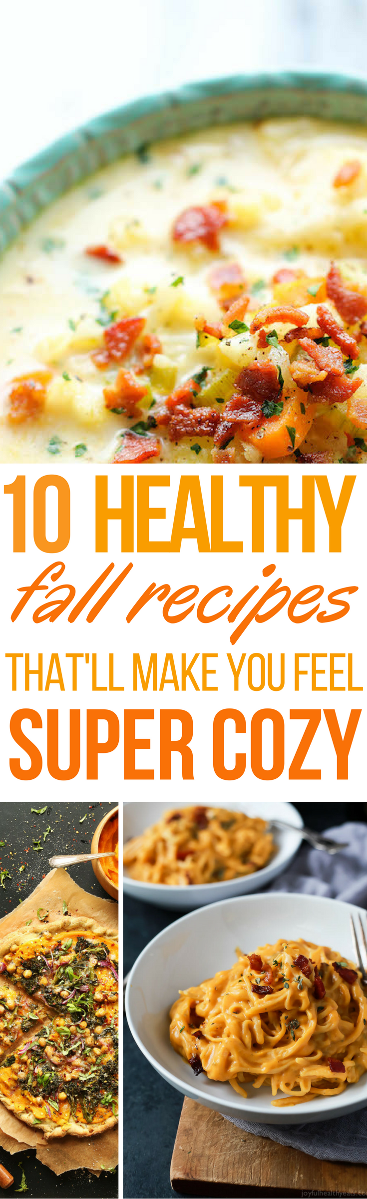 10 Healthy But Amazing Fall Recipes That Actually Feel Like You're Cheating #fallrecipesdinner