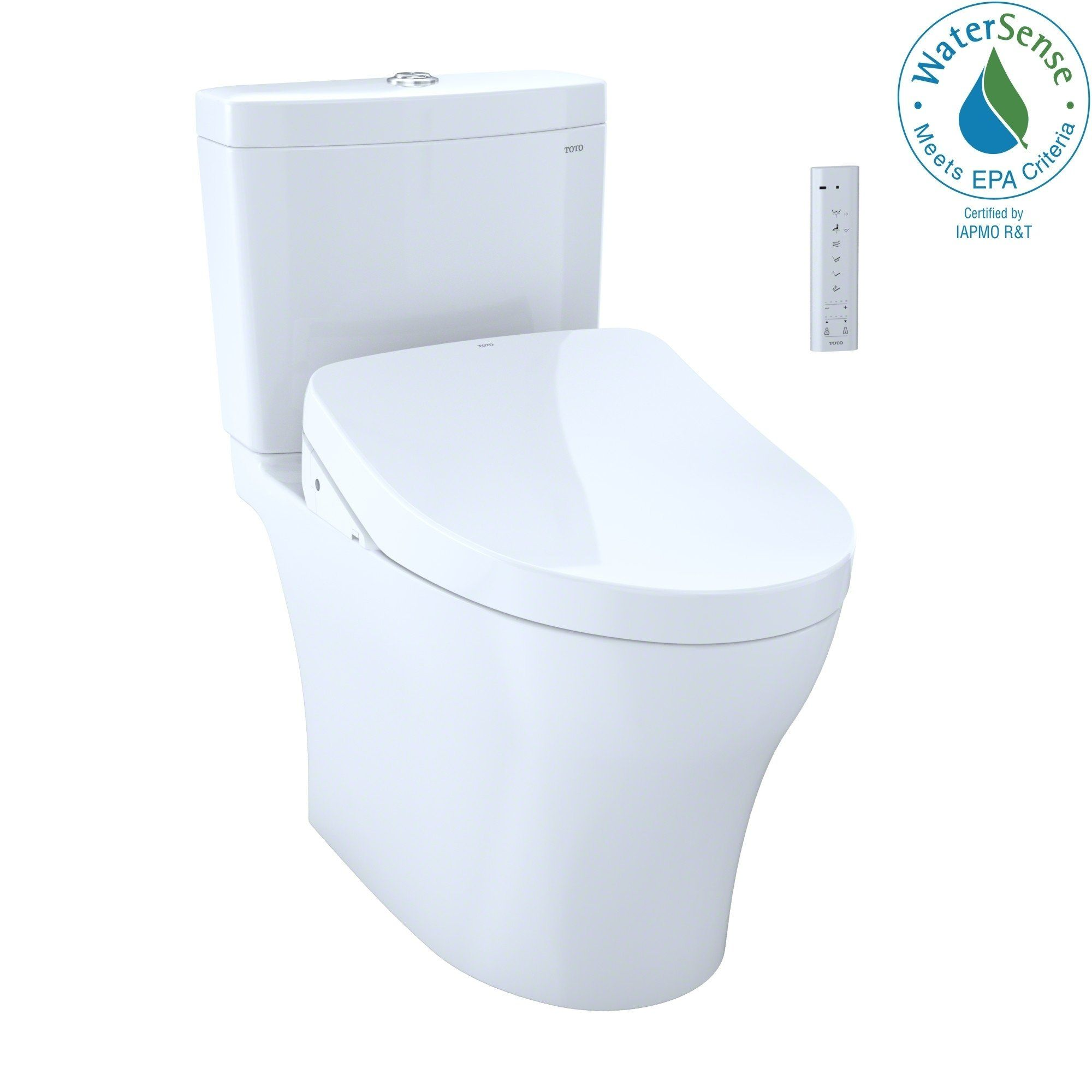 Toto Washlet Kit Aquia Iv 1g 2 Piece Elongated Dual Flush Toilet