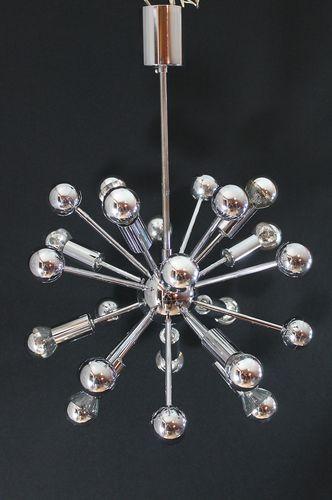 Original SPUTNIK - Lampe - Hängelampe - 70er Jahre Designklassiker - esszimmer 70er