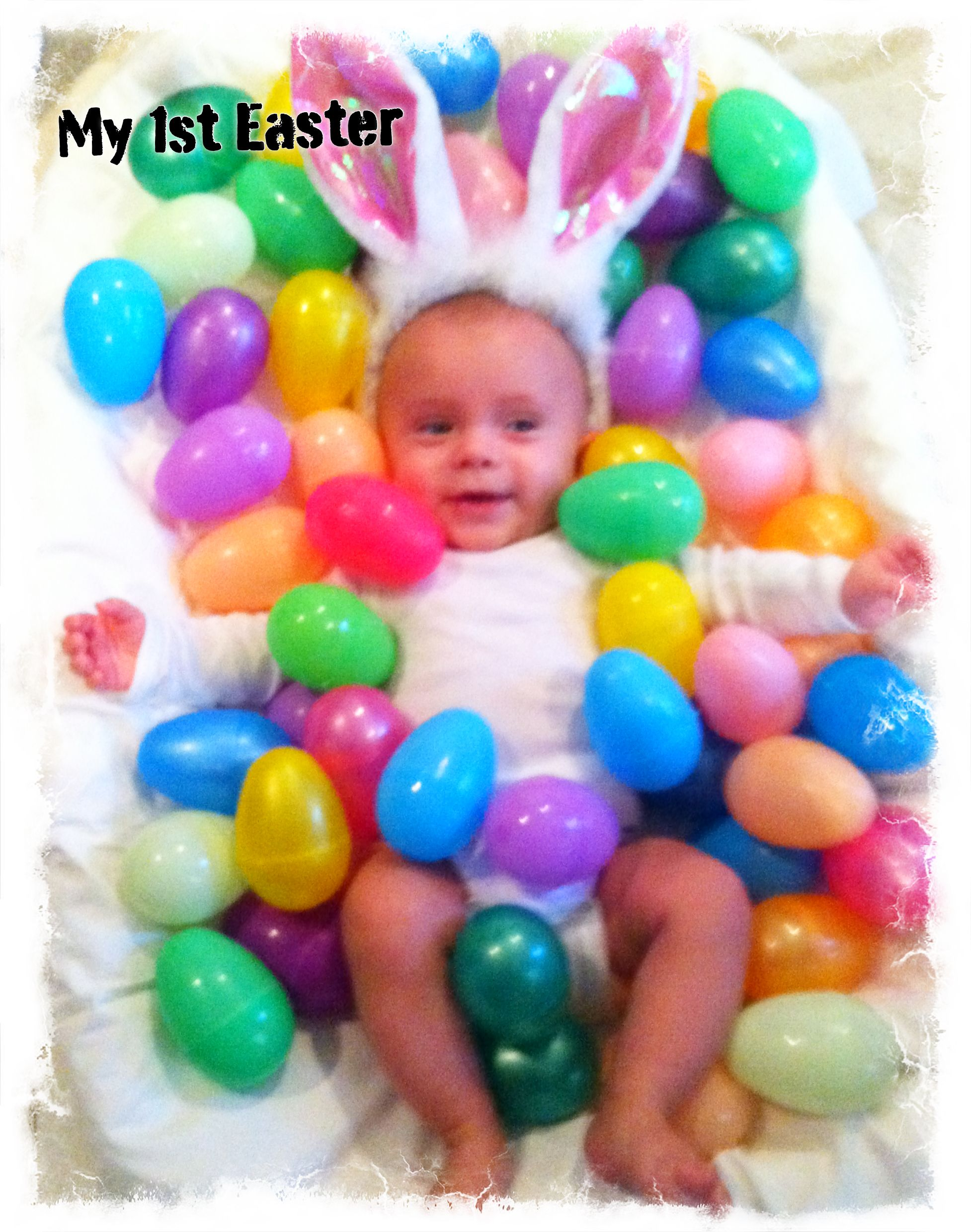 Baby easter picture baby easter pictures pinterest easter baby easter picture negle Images