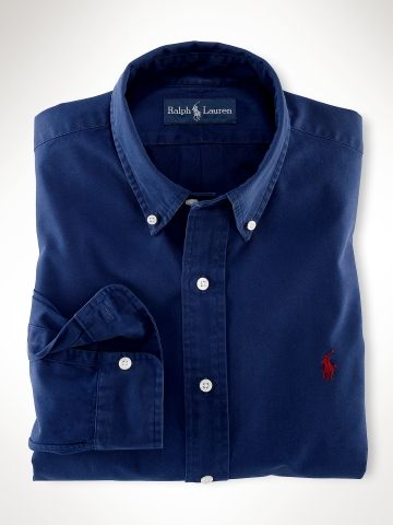 962814ded54e Custom-Fit Polo Ralph Lauren Chino Shirt