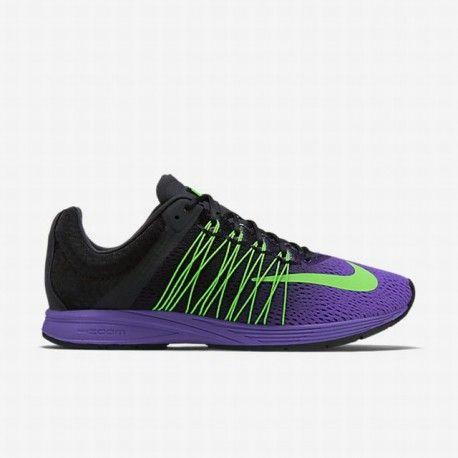 Unisex Nike Air Zoom Streak 5 Fierce Purple/Black/Green Strike Running Shoe