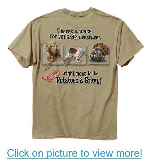 Buck Wear Inc. Potatoes and Gravy Short Sleeve Tee