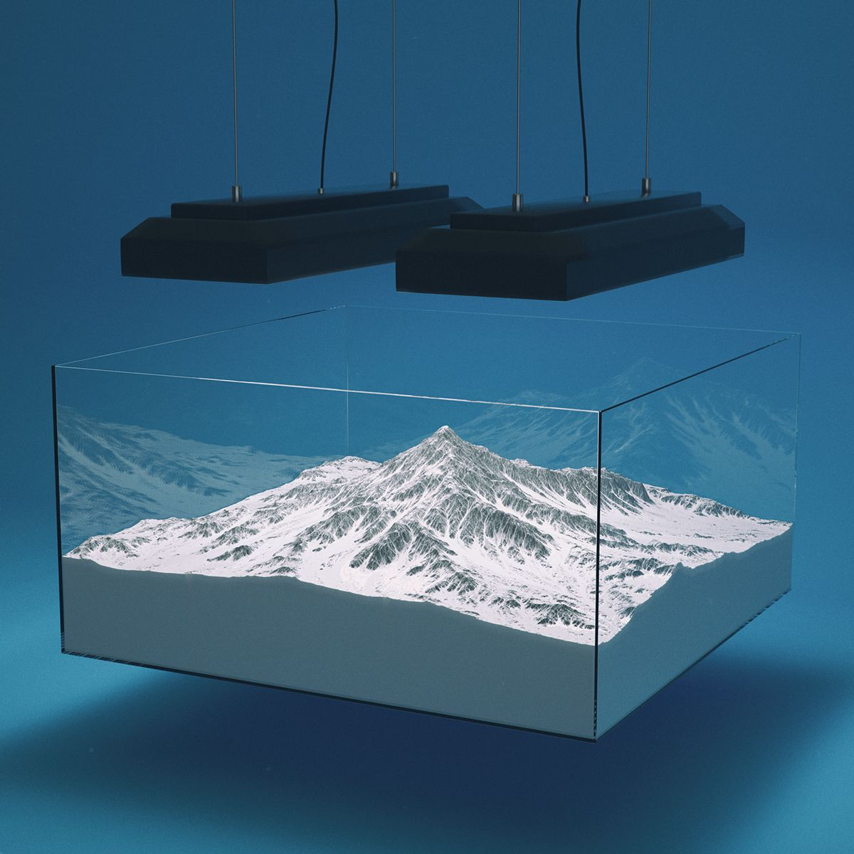 Daily renders 02 on Behance (With images) Fishing decor