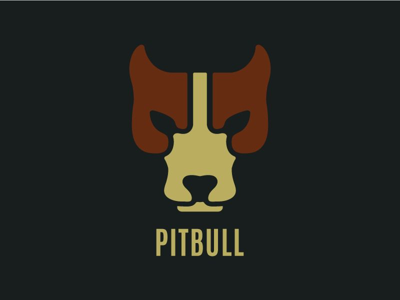Pitbull Logo Design Inspiration Pinterest Logos