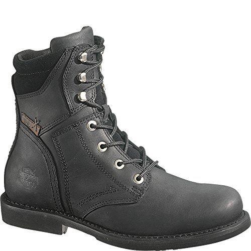 Safe Way - Calzado de protección de material sintético para hombre negro negro, color negro, talla 42