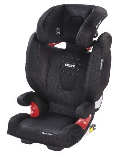 Recaro Monza Nova 2 Seatfix - Silla de coche, grupo 2/3, color negro ...