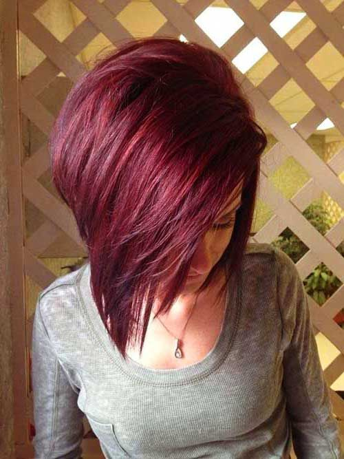 30 Really Stylish Color Ideas For Short Hair Mahogany