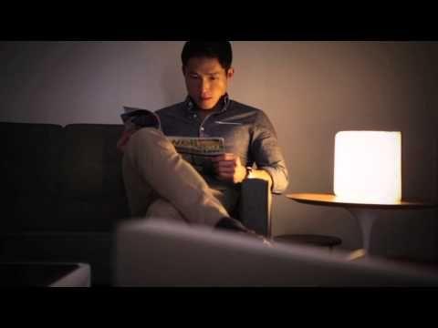 Lumio Video  http://www.fubiz.net/2014/01/30/lumio-folding-book-lamp/