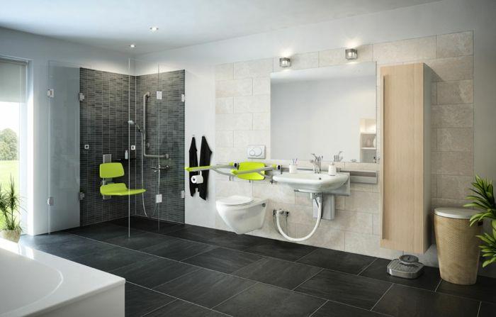 Badezimmer gestalten - Wie gestaltet man richtig das Bad nach Feng - badezimmer grau design