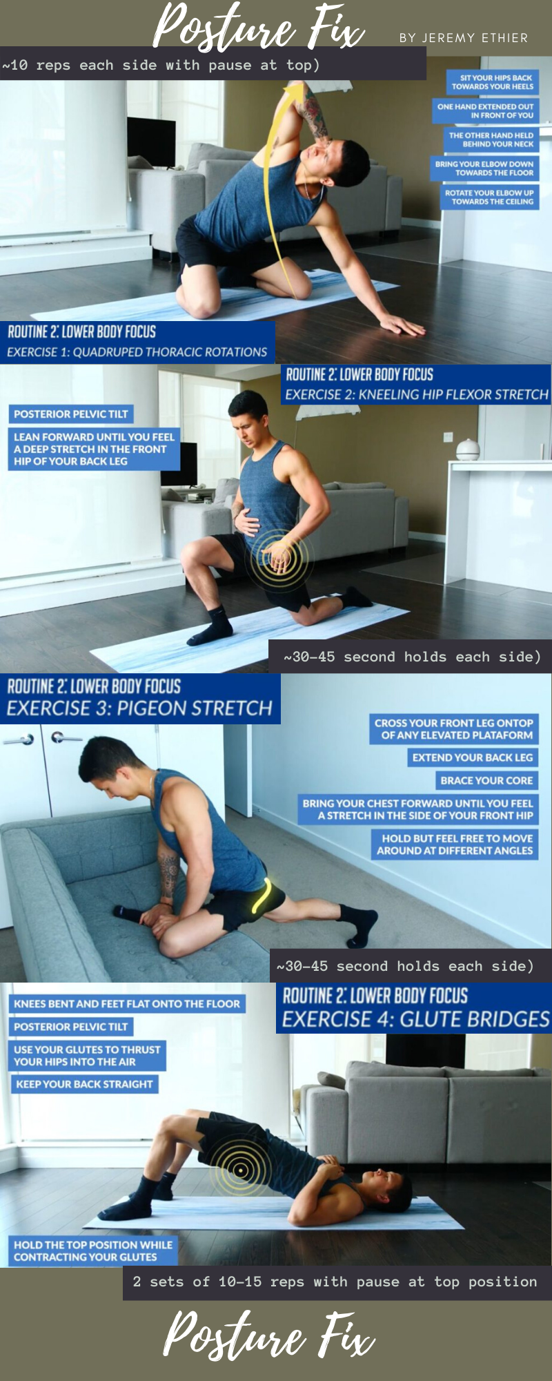 27+ Correcting lower cross syndrome ideas