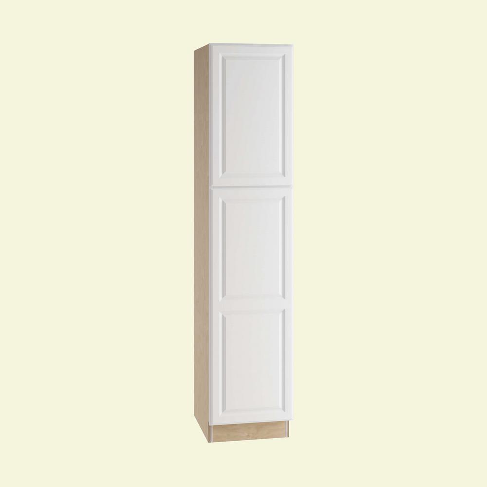 Merveilleux Hallmark Assembled 18 X 84 X 21 In. Pantry/Utility Vanity Linen Cabinet Door