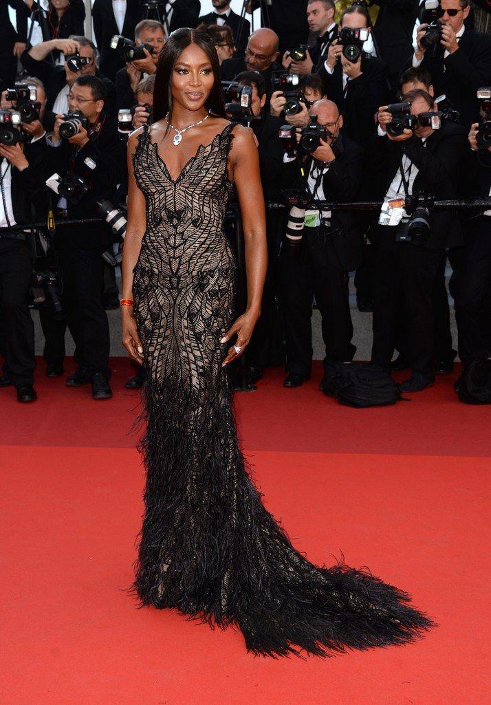 Naomi Campbell Festival de Cannes 2017