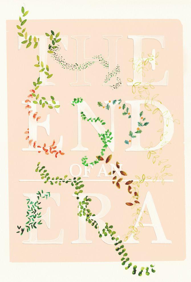 TYPOGRAPHY - Amy Borrell   Illustration & Design