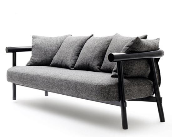 Modern Wood Sofa pinyip poho on furniture | pinterest | search, sofas and modern