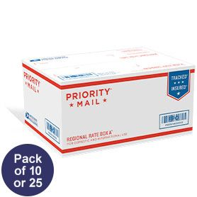Priority Mail Regional Rate Box A1 Military Care Package Priorities Personalized Stamps