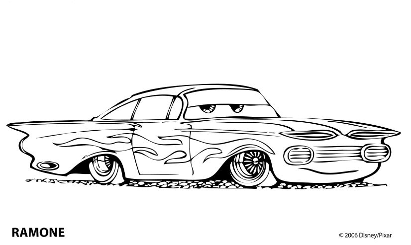 13 best images about coloring pages on Pinterest  Cars